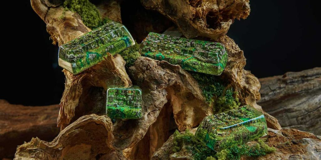 Jelly Key Artisan Keycaps