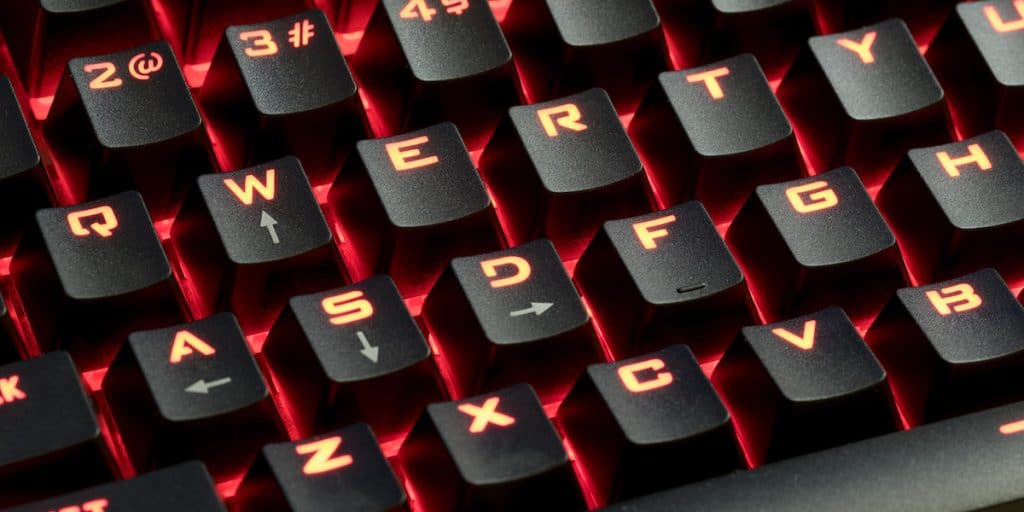 RGB mechanical keyboard that cost less than $50.