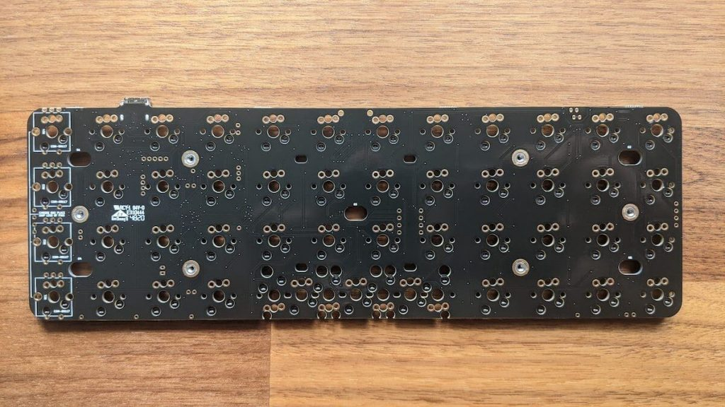 Planck OLKB PCB