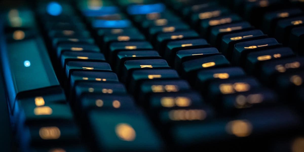 Capacitive Keyboard Hero Image